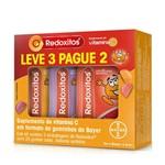 Kit Redoxitos 25 Gomas Mastigáveis 3 Unidades Sabor Sortido