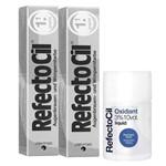 Kit Refectocil 2 Tinta + 1 Oxidante N° 1.1 Grafite