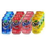 Kit Refrigerante Fanta 12 Unid 355ml
