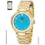 Kit Relógio Analógico Feminino Champion CN26395Y 7891511389332
