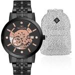 Kit Relógio Feminino Technos com Mochila CARNIVAL2117LAQ