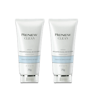 Kit Renew Clean Esfoliante Facial Uso Diário 75g
