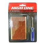 Kit Reparo Tubeless Macarrão C/ Chave High One