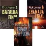 Kit Rick Joyner (3 Livros) a Batalha Final, a Chama Final e a Espada e a Tocha