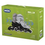 Kit Roller Cinza M 34 - 37 - Mor