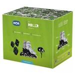 Kit Roller | Joelheira Cotoveleira Bolsa Capacete Infantil