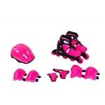 Kit Rollers Radical Completo Rosa P-(29-32) Bel 365100