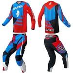 Kit Roupa Motocross IMS Power 2018 Azul / Vermelho