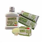 Kit Sabonete+enxaguante+creme Dental Orgânico