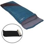 Kit Saco de Dormir Liberty com Interior de Algodão + Isolante Térmico E.v.a. - Nautika