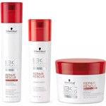 Kit 3 Schwarzkopf Bonacure Repair Rescue Shampoo 250ml + Cond 250ml + Mascara 200ml