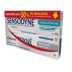 Kit Sensodyne Limpeza Profunda+branqueador Extra Fresh 90g Preço Especial