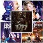 Kit Sertanejo - Maiara & Maraisa, Marília, Luan Santana, Michel Teló e Thaeme & Thiago - 5 DVD's / Sertanejo