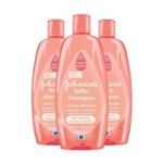 Kit C/ 2 Shampoo Johnson's Baby Cachos Definidos 400ml