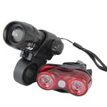 Kit Sinalização para Bicicleta Farol + Vista Light