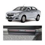 Kit Soleira Chevrolet Cobalt 4p Carbono