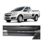 Kit Soleira Chevrolet Montana 2011 a 2018 4p Elegance Premium