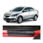Kit Soleira Chevrolet Prisma Elegance Premium 2013 a 2015 4 Portas