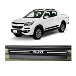 Kit Soleira Chevrolet S10 Elegance Premium 2012 a 2015 4 Portas
