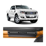 Kit Soleira Ford Ranger Elegance Premium 2013 a 2015 4 Portas