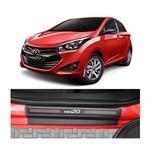 Kit Soleira Hyundai Hb20 4p Carbono