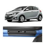 Kit Soleira Hyundai Hb20 Elegance Premium 2012 a 2015 4 Portas