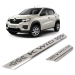 Kit Soleira Renault Kwid 4p Inox