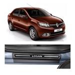 Kit Soleira Renault Logan Elegance Premium 2014 Á 2015 4 Portas