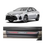 Kit Soleira Toyota Corolla 2014 4p Carbono