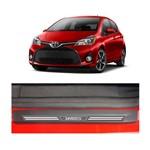 Kit Soleira Toyota Yaris 4p Carbono