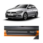 Kit Soleira Volkswagen Polo 2018 4P Elegance Premium