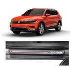 Kit Soleira Volkswagen Tiguan 2018 4p Carbono