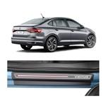 Kit Soleira Volkswagen Virtus 4p Carbono