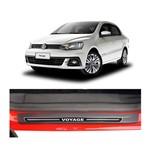 Kit Soleira Volkswagen Voyage Elegance Premium 2008 a 2015 4 Portas Kit Soleira Volkswagen Voyage Elegance Premium 2008 a 2015 4 Portas