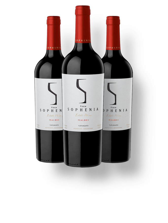 Kit 3 Sophenia Estate Wine Malbec