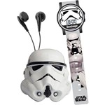 Kit Space Set Star Wars Stormtrooper - Relógio Digital + Rádio Fm - Candide