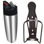 Kit Squeeze 900ml em Aço Acte Sports C16 + Suporte de Squeeze para Bicicletas Acte Sports A9