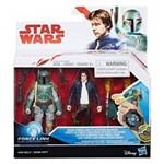 Kit Star Wars Han Solo & Boba Fett C1244 - Hasbro