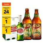 Kit Stella Colorado - 4 Packs Stella Artois 275ml (24 Unidades) + Colorado Cauim 600ml + Colorado Appia 600ml