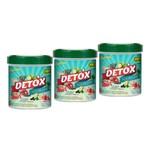 Kit 3 Suco Detox Solúvel Unilife Sabor Abacaxi com Hortela 220g