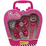 Kit Supremo Barbie Candide Tiara + Presilha + Relógio