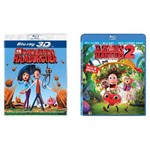 Kit Tá Chovendo Hambúrguer 3d Vol. 1 e 2 - Blu Ray Infantil