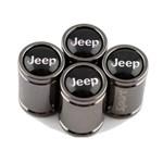 Kit Tampa Bico Pneu Vávula Roda Sport Jeep Renegade Compass