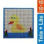Kit Tela para Bordar 10x10 - 3104 Pato