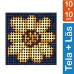 Kit Tela para Bordar 10x10 - 3107 Flor