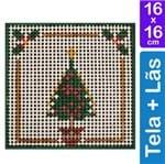 Kit Tela para Bordar 16x16 - 3214 Árvore de Natal