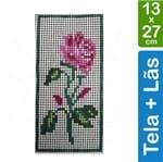 Kit Tela para Bordar 13x27 - 3302 Rosa