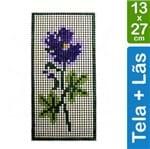 Kit Tela para Bordar 13x27 - 3309 Flor de Lis
