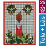 Kit Tela para Bordar 25x33 - 4701 Vela