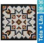 Kit Tela para Bordar 36x36 - 4401 Azulejo
